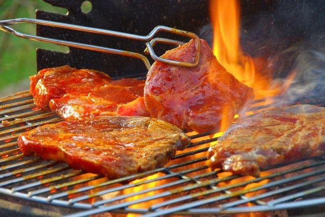 nướng thịt dê