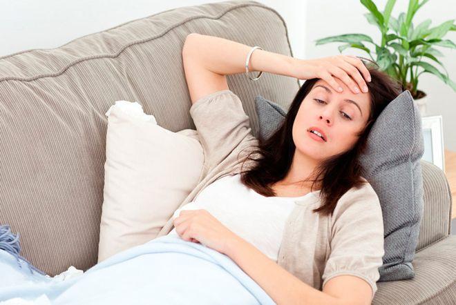 mệt mỏi khi mang thai
