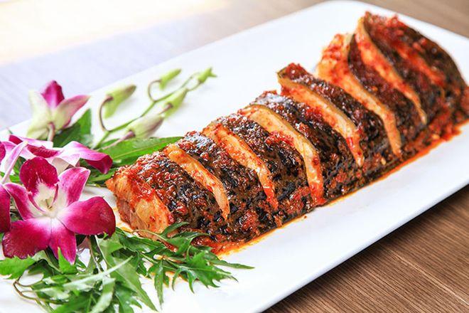 cá nướng sa tế thơm ngon