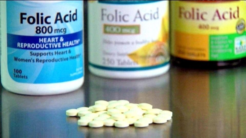 bổ sung acid folic đúng liều lượng