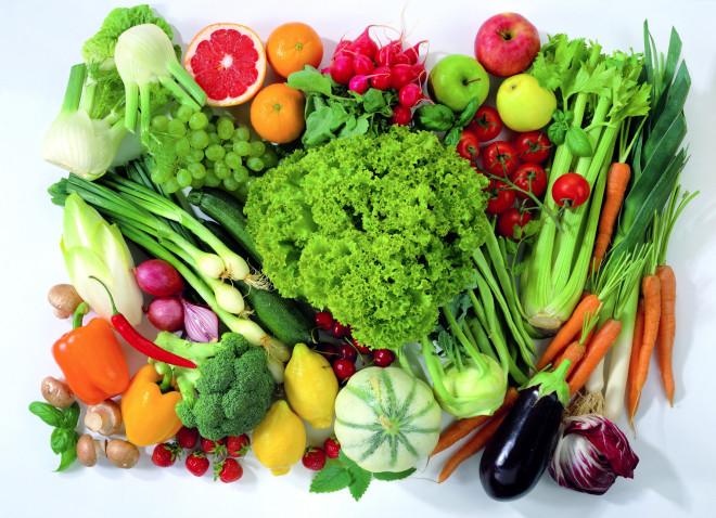 Trái cây rau củ.