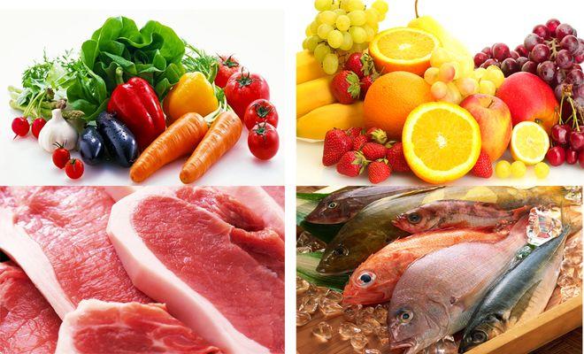 đảm bảo thực phẩm sạch khi chế biến thức ăn dặm cho trẻ