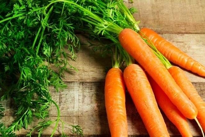 cà rốt tươi