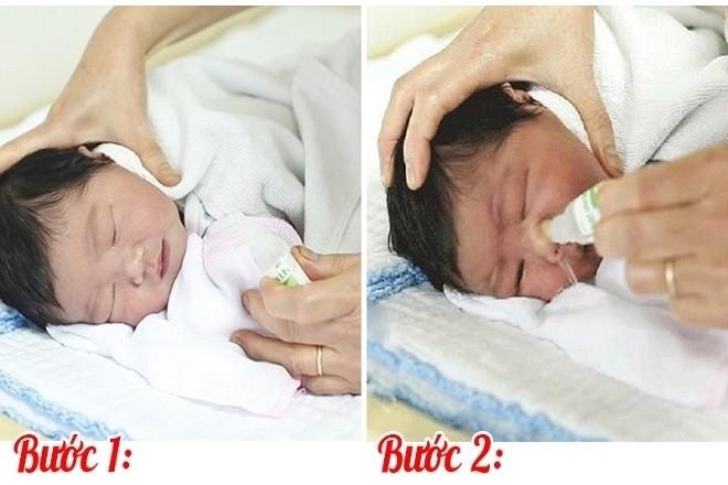 vệ sinh mũi cho bé