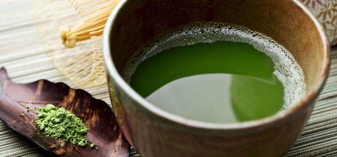 phơi nước cốt trà xanh