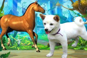 Cách dạy các con vật cho bé thật sinh động