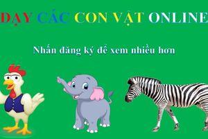 Dạy bé học chủ đề con vật hiệu quả - Phần 3