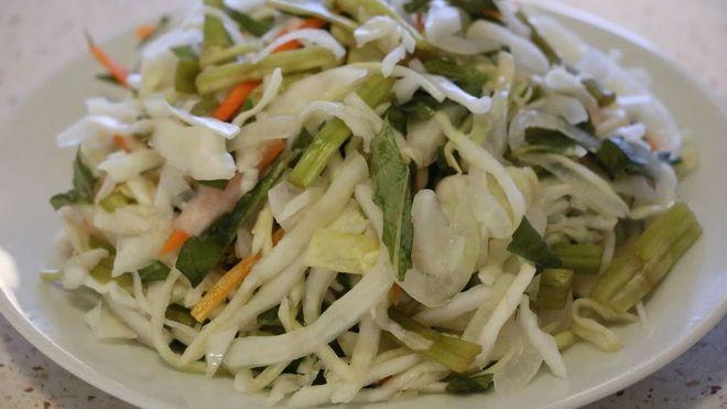 bắp cải muối chua