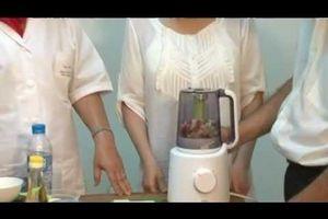 Cách chuẩn bị để chế biến thức ăn dặm bằng máy xay thật chuẩn cho bé