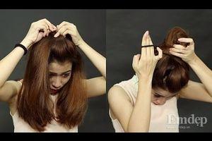 Những kiểu tóc đẹp đơn giản nhất dành cho nàng khi chưa gội đầu