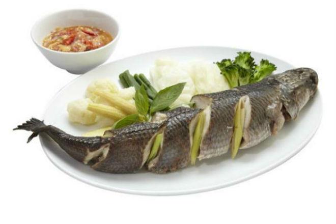 cá lóc luộc
