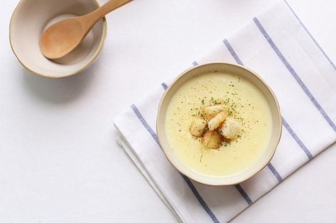 súp khoai tây phô mai