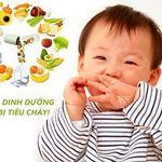 Trẻ bị tiêu chảy nên ăn gì mẹ có biết?