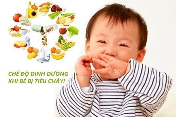 tiêu chảy là tình trạng thường gặp ở trẻ nhỏ
