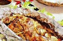 Cá nướng giấy bạc bằng bếp ga - cách nướng cá ngon và đơn giản nhất định bạn nên thử