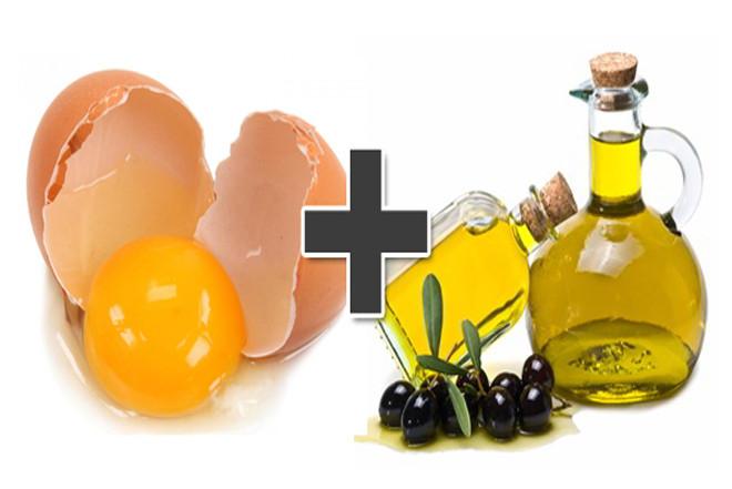 Dầu olive và trứng gà - nguyên liệu chính để làm sốt mayonnaise ngon.