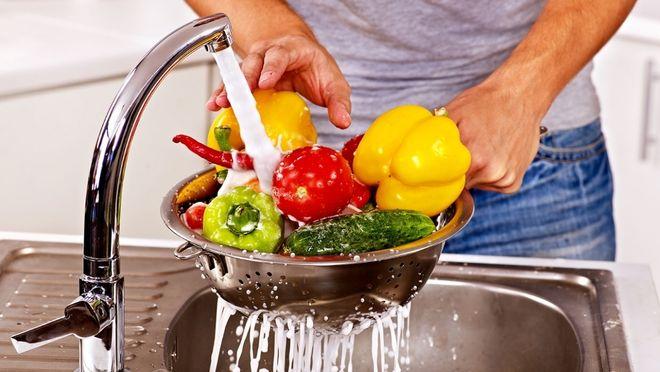 làm sạch thực phẩm