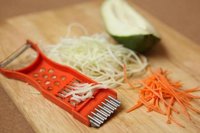 đu đủ cà rốt bào sợi