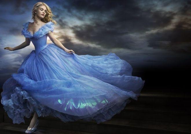 cô bé lọ lem hóa thành nàng công chúa