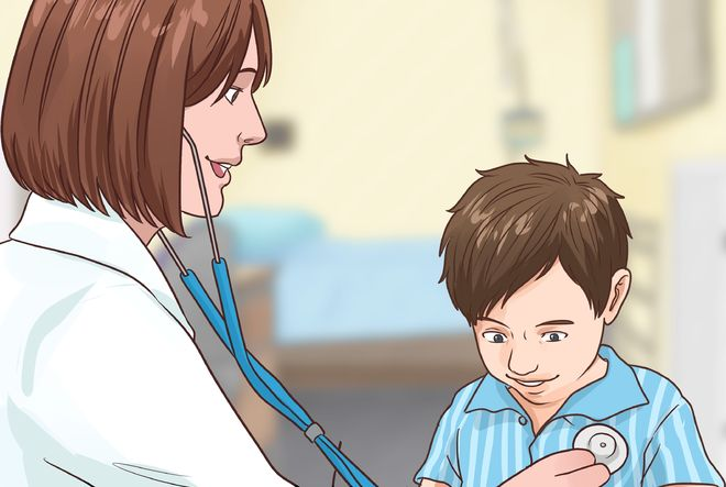 khám sức khỏe cho bé trai