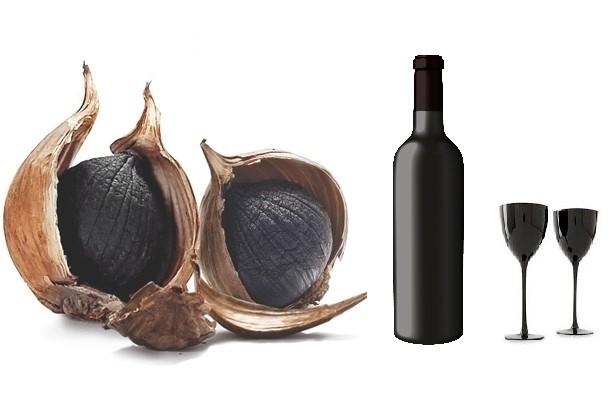 rượu tỏi đen