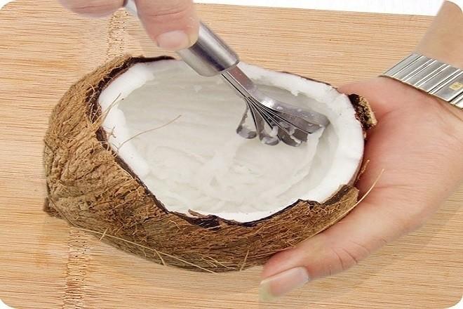 nạo dừa