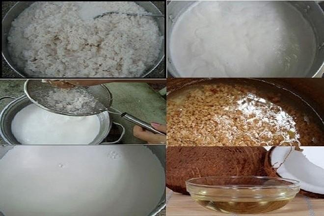 cách làm dầu dừa bằng phương pháp nóng