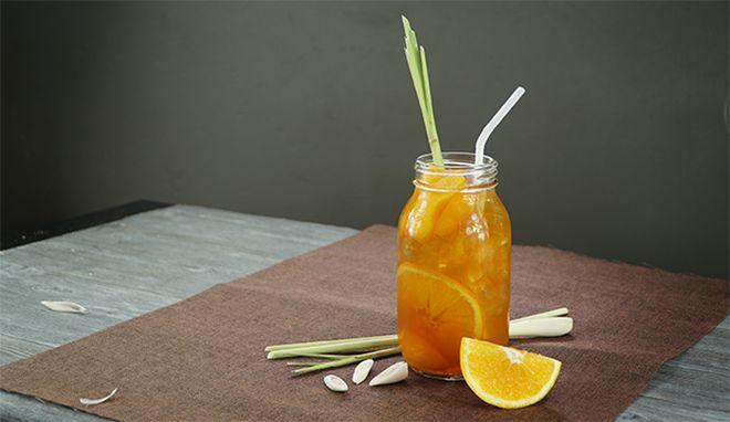 trà đào cam sả thơm ngon
