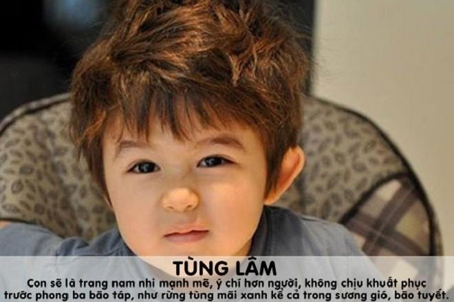 đặt tên con trai họ Nguyễn theo bộ chữ Hán