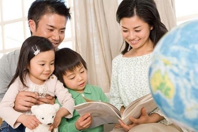 Ba mẹ có vai trò quan trọng trong quá trình phát triển tâm lý trẻ lên 4