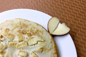Pancake táo cho bà bầu - Món ngon cho bà bầu