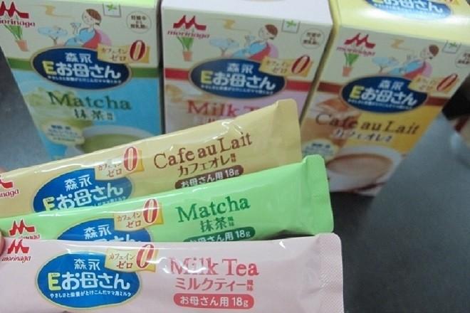 ba hương vị sữa morinaga