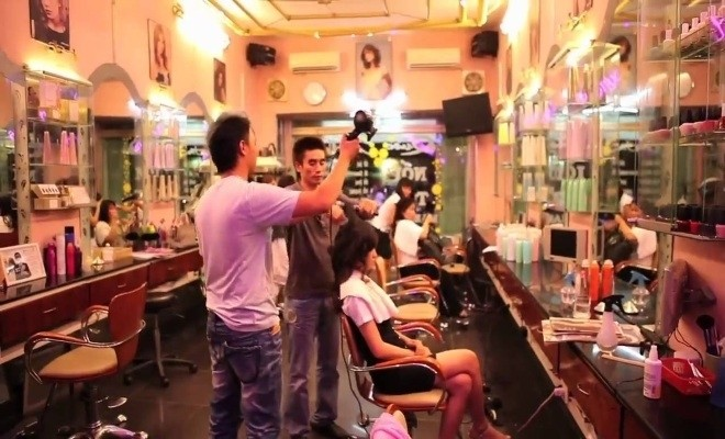 o dau uon toc dep quoc catwalk hair salon