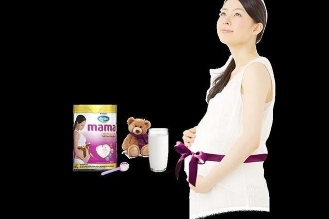 sữa dielac dành cho bà bầu
