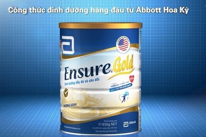 sữa abbott cho bà bầu dòng ensure gold