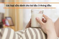 Các loại sữa dành cho bà bầu 3 tháng đầu mẹ nên biết
