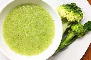 Cháo súp lơ xanh giàu dinh dưỡng - cách nấu cho bé mới tập ăn dặm