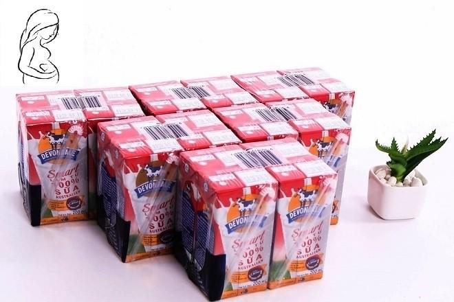 sữa tươi devondale smart cho bà bầu