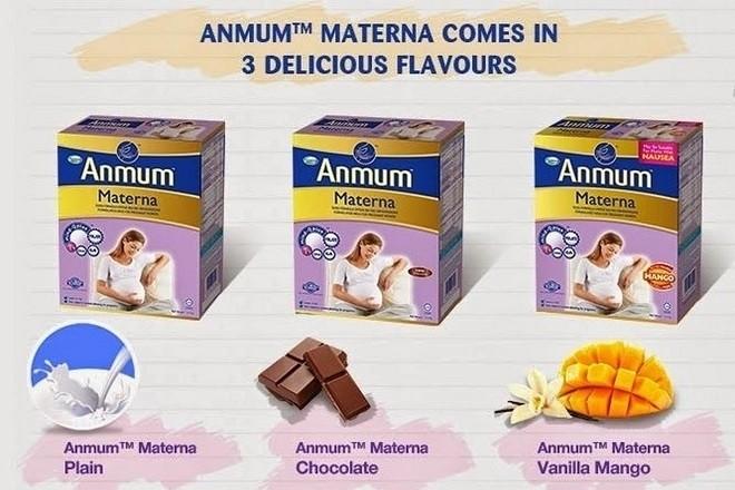 sữa anmum materna cho bà bầu