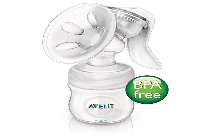 máy hút sữa avent bằng tay BPA free làm từ nhựa cao cấp PP đảm bảo an toàn cho mẹ và bé