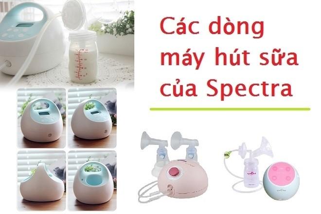 các loại máy hút sữa spectra