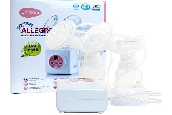 máy hút sữa unimom điện đôi Premium UM872002
