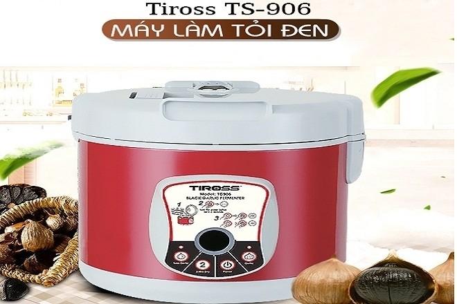 máy làm tỏi đen gia đình Tiross TS906 được bổ sung thêm tính năng sấy khô