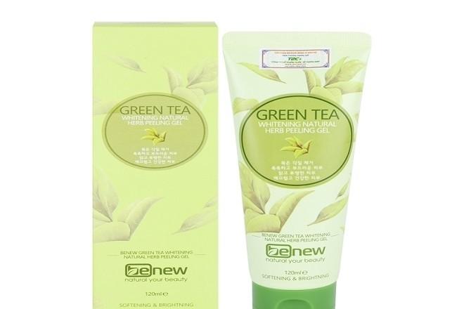 mỹ phẩm tẩy tế bào chết Green Tea