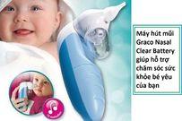 Máy hút mũi graco Nasal Clear Battery của Mỹ - sản phẩm giúp cho bé khỏe, mẹ vui