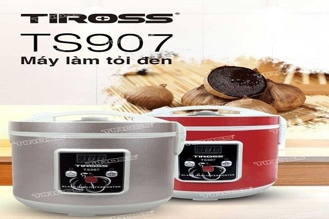 Tiross là một trong những thương hiệu uy tín trên thị trượng đặc biệt là dòng sản phẩm máy làm tỏi đen 5kg thông minh