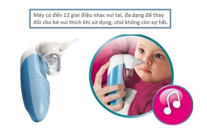 máy hút mũi graco có nhạc cho bé