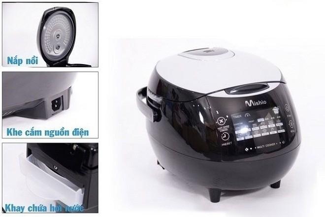 máy làm tỏi đen mishio MK03 được thiết kế thông minh hiện đại thuận tiện cho người dùng