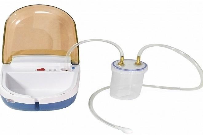 máy hút mũi hi baby Dotha được tích hợp cả 2 tính năng là xông mũi và hút mũi