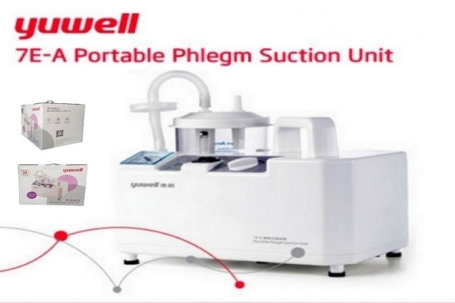 máy hút mũi yuwell là thiết bị y tế được sử dụng khá phổ biến hiện nay